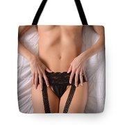 Lingerie Beauty Tote Bag
