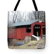 Little Gap Covered Bridge Tote Bag