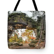 Little Pravcice Gate - Famous Natural Sandstone Arch Tote Bag