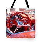 Little Red Corvette Tote Bag
