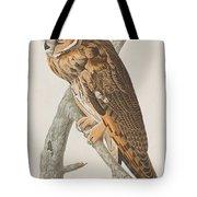 Long-eared Owl Tote Bag