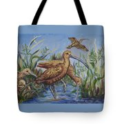 Longbilled Curlews Tote Bag