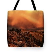 Lost River Sunset Tote Bag