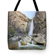 Lower Yosemite Fall In The Famous Yosemite Tote Bag
