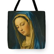 Madonna At Prayer Tote Bag