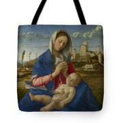 Madonna Of The Meadow Tote Bag