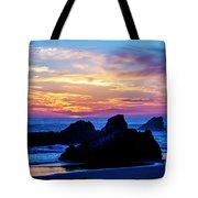 Magical Sunset - Harris Beach - Oregon Tote Bag