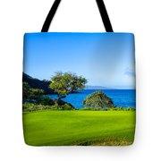 Makena Golf Course In Makena Area Tote Bag