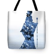 Maleficent-blue Tote Bag