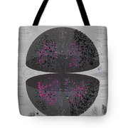 Map Of The Entire Universe Superclusters And Voids Tote Bag