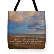 2- Marcus Aurelius Tote Bag