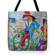 Marseille Street Art, Le Panier And Le Cours Julien Tote Bag