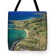 Maui Aerial Of Kapalua Tote Bag