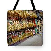 Meat Market In Palma Majorca Spain Tote Bag