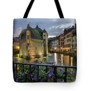 Medieval Jail In Annecy Tote Bag