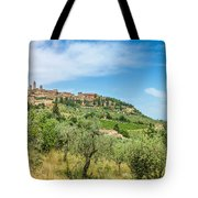 Medieval Town Of San Gimignano, Tuscany, Italy Tote Bag
