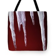 Melting Icicles Tote Bag