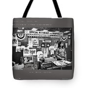 Merchandise George Mcgovern For President Democratic Nat'l Convention Miami Beach Florida 1972 Tote Bag