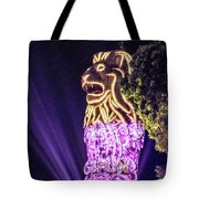 Merlion Tote Bag