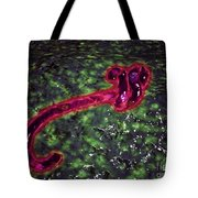 Microscopic View Of Ebola Virus Tote Bag