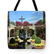 Mission Inn Chapel Courtyard Tote Bag