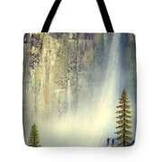 Misty Falls Tote Bag