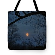 Misty Moonrise Tote Bag