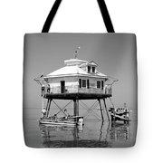 Mobile Bay Lighthouse Tote Bag
