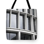Modern Office Building Tote Bag