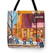 Montreal Paintings Tote Bag