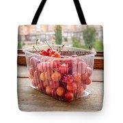 Morello Cherries Tote Bag