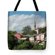 Mostar, Bosnia And Herzegovina Tote Bag