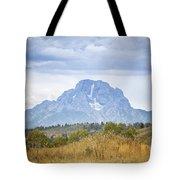 Mount Moran Tote Bag