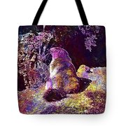 Mountain Marmot Wildlife Animals  Tote Bag