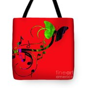 Music Flows Collection Tote Bag