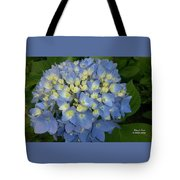My Blue Hydrangeas Tote Bag