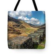 Nant Ffrancon Pass Snowdonia Tote Bag