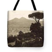 Naples: Mt. Vesuvius Tote Bag