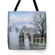 National World War II Memorial Tote Bag