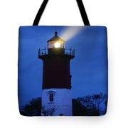 Nauset Lighthouse Night Tote Bag