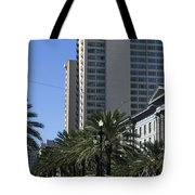 New Orleans Cable Car Tote Bag