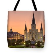 New Orleans St Louis Cathedral Tote Bag