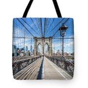 New York City Brooklyn Bridge Tote Bag