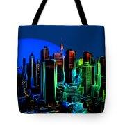 New York Colors Tote Bag