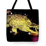 Nile River Crocodile Tote Bag