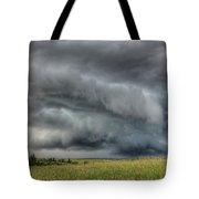 North Dakota Thunderstorm Tote Bag