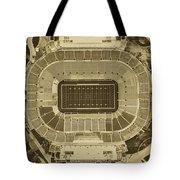 Notre Dame Stadium Tote Bag