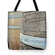 Oak Wine Barrel Tote Bag