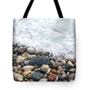 Ocean Stones Tote Bag by Stelios Kleanthous