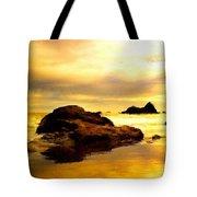 Oil Canvas Landscape Tote Bag